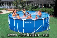 intex 54946 - ������� ��������� 457�122 �� Metal Frame Pool Set - ���������� � ���������!
