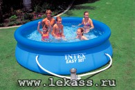 intex 56922 - ������� �������� ��� 305�76�� Easy Set Pool + �����-������
