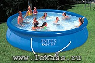 intex 56932 - ������� �������� ��� 366�91�� Easy Set Pool + �����-������
