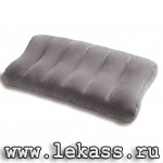 "Подушка флокированная 61x30x10см ""Ultra-Comfort"" intex 68677"
